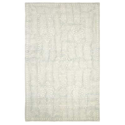 Anamaria Hand-Woven Light Blue Area Rug Rug Size: Rectangle 5 x 8