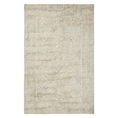 Anamaria Hand-Woven Light Brown Area Rug Rug Size: 5 x 8