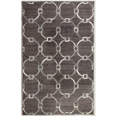 Ritz Hand-Woven Gray/Beige Area Rug Rug Size: Rectangle 5' x 8'
