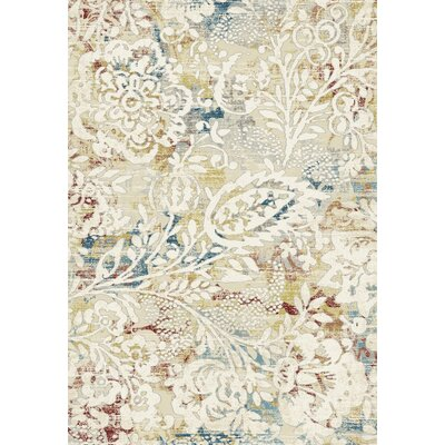 Prism Beige Area Rug Rug Size: Rectangle 36 x 56