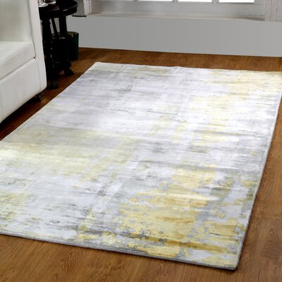 Artisan Handmade Area Rug Rug Size: Rectangle 8 x 11