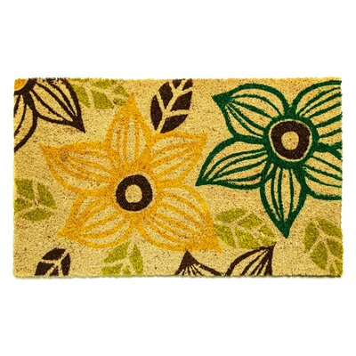 Cloville Floral Doormat