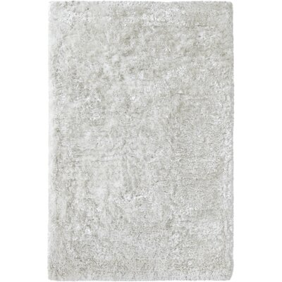 Timeless Hand-Tufted Silver Area Rug Rug Size: Rectangle 8' x 10'