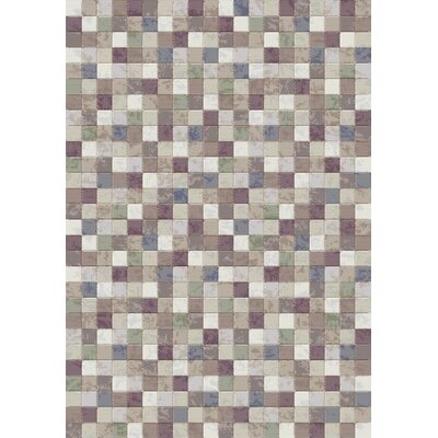 Eclipse Gray Area Rug Rug Size: Rectangle 53 x 77