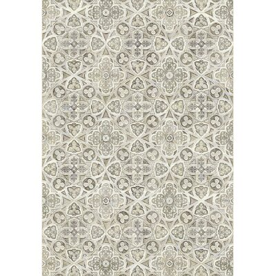Eclipse Beige Area Rug Rug Size: Rectangle 67 x 96