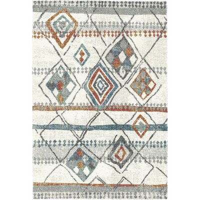 Mehari Ivory Area Rug Rug Size: Rectangle 311 x 57