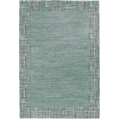 Mehari Teal Area Rug Rug Size: Rectangle 2 x 311