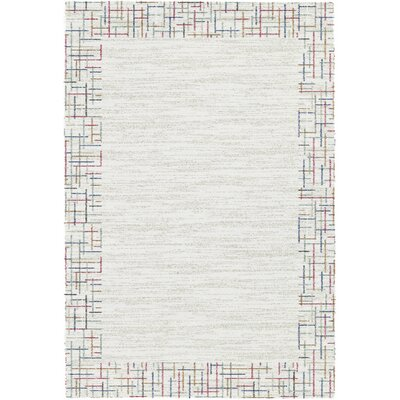 Mehari Ivory Area Rug Rug Size: Rectangle 53 x 77