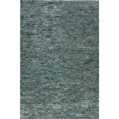 Gem Hand-Woven Blue Area Rug Rug Size: Rectangle 5 x 8
