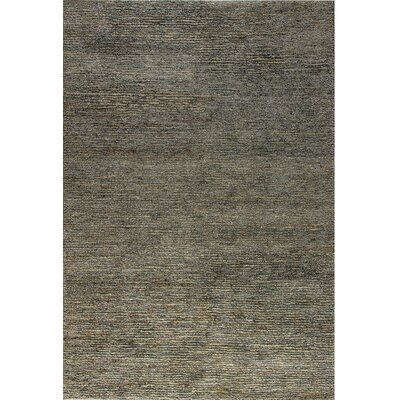 Gem Hand-Woven Light Gray Area Rug Rug Size: 5 x 8