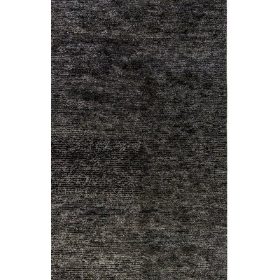 Gem Hand-Woven Charcoal Area Rug Rug Size: Rectangle 8 x 11