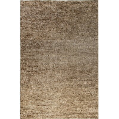 Gem Hand-Woven Silver/Gray Area Rug Rug Size: Rectangle 4 x 6