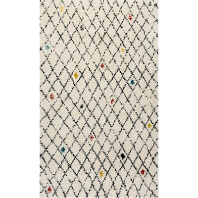 Nomad Ivory Area Rug Rug Size: Rectangle 53 x 77
