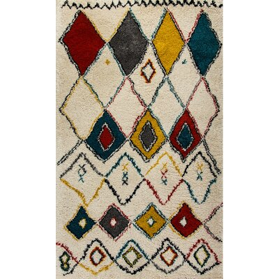 Nomad Ivory Area Rug Rug Size: Rectangle 27 x 411