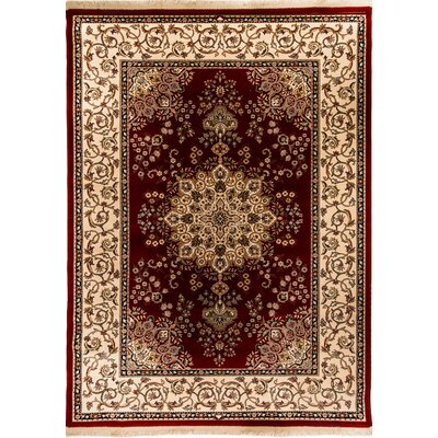 Cirro Red / Beige Oakland Area Rug Rug Size: 82 x 1110
