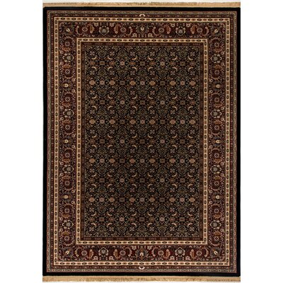 Cirro Brown / Black Wheeler Area Rug Rug Size: Rectangle 22 x 47