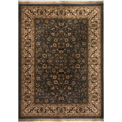 Cirro Grey / Ivory Fisher Area Rug Rug Size: Rectangle 22 x 47