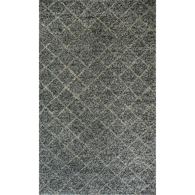 Zest Hand-Woven Charcoal/Gray Area Rug Rug Size: Rectangle 2 x 4