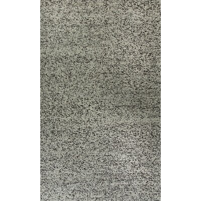 Zest Hand-Woven Gray/Ivory Area Rug Rug Size: Rectangle 8 x 11