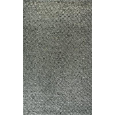 Zest Hand-Woven Ivory/Gray Area Rug Rug Size: Rectangle 5 x 8