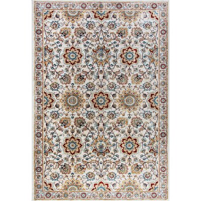 Venice Beige Area Rug Rug Size: Rectangle 710 x 1010