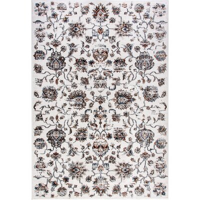 Venice Beige Area Rug Rug Size: Rectangle 53 x 77