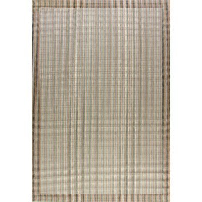 Veranda Brown Indoor/Outdoor Area Rug Rug Size: Rectangle 53 x 77