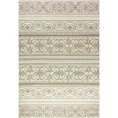 Veranda Beige Indoor/Outdoor Area Rug Rug Size: Rectangle 311 x 57