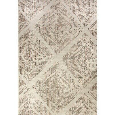 Veranda Cream Indoor/Outdoor Area Rug Rug Size: Rectangle 2 x 37