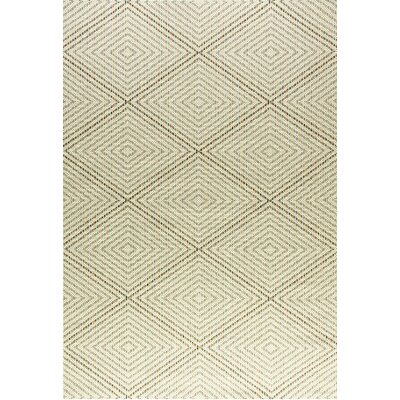 Veranda Cream Indoor/Outdoor Area Rug Rug Size: Rectangle 53 x 77