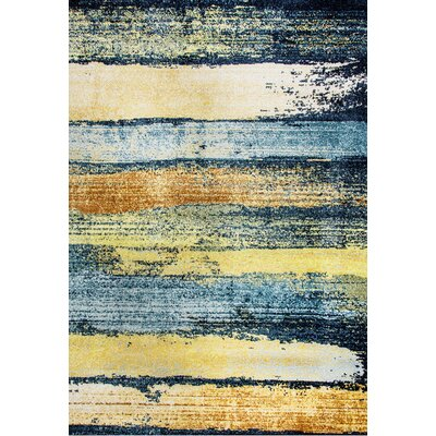 Adams Striped Area Rug Rug Size: Rectangle 710 x 1010