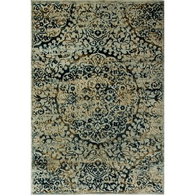 Quartz Blue Area Rug Rug Size: Rectangle 67 x 96