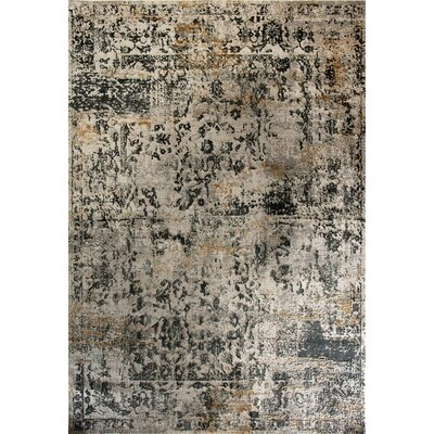 Quartz Blue/Beige Area Rug Rug Size: Rectangle 67 x 96