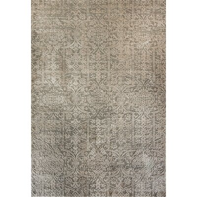 Quartz Gray Area Rug Rug Size: Rectangle 53 x 77