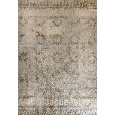 Quartz Beige Area Rug Rug Size: Rectangle 67 x 96