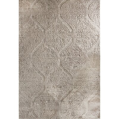 Lehigh Beige Area Rug Rug Size: Rectangle 68 x 97