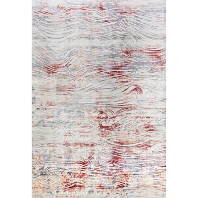 Chelsea Cream Area Rug Rug Size: Rectangle 53 x 77