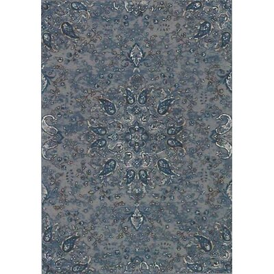 Regal Blue Area Rug Rug Size: Runner 22 x 77
