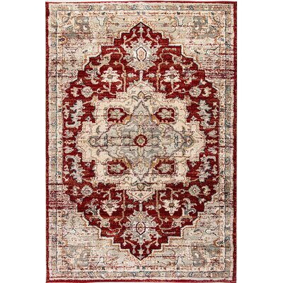 Evolution Rust Area Rug Rug Size: 67 x 96