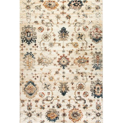 Evolution Ivory Area Rug Rug Size: Rectangle 710 x 1010