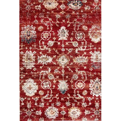Evolution Rust Area Rug Rug Size: Rectangle 53 x 77