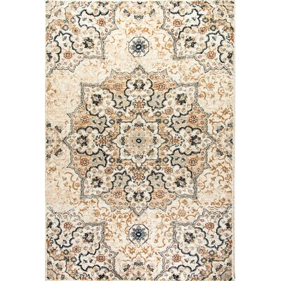 Evolution Beige Area Rug Rug Size: Rectangle 92 x 1210