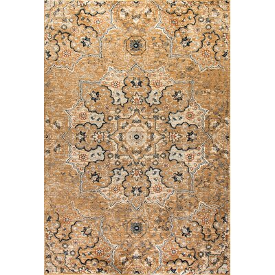 Evolution Tan Area Rug Rug Size: Rectangle 53 x 77