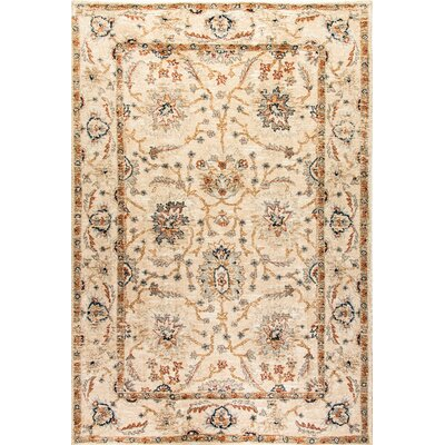 Evolution Beige Area Rug Rug Size: Rectangle 67 x 96