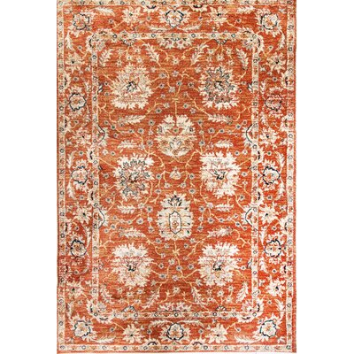 Evolution Dark Beige Area Rug Rug Size: 53 x 77