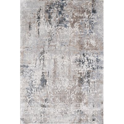 Image Light Brown/Beige Area Rug Rug Size: Rectangle 36 x 56