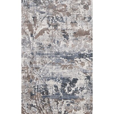 Image Light Brown/Beige Area Rug Rug Size: Rectangle 67 x 96