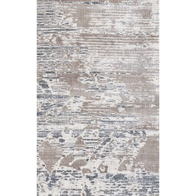 Image Light Brown/Beige Area Rug Rug Size: Rectangle 92 x 1210