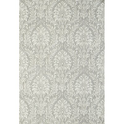 Quartz Light Gray Area Rug Rug Size: Rectangle 53 x 77