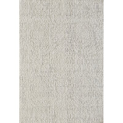 Quartz Ivory/Beige Area Rug Rug Size: Rectangle 53 x 77
